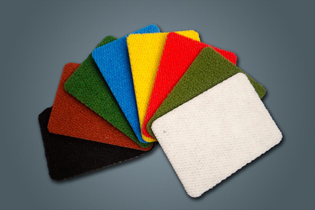 MnD Sports Carpet colour samples