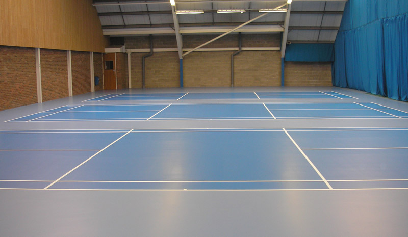 multipurpose seamless sports flooring - hall